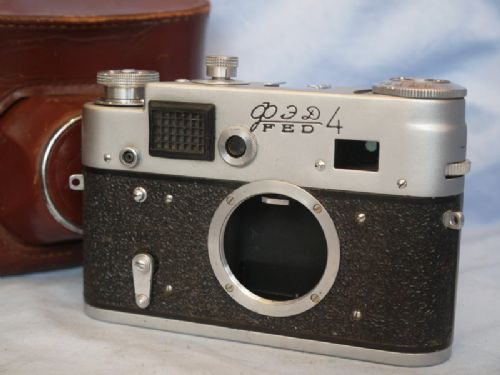 Fed 4 F190 Vintage Rangefinder Camera  Cased   £24.99